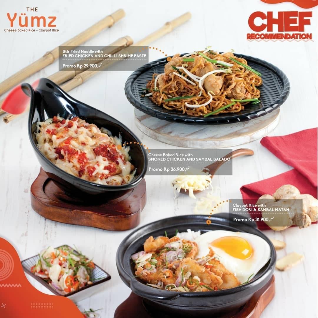 The Yumz Promo Menu Baru, Harga Spesial Mulai Dari Rp.29.000