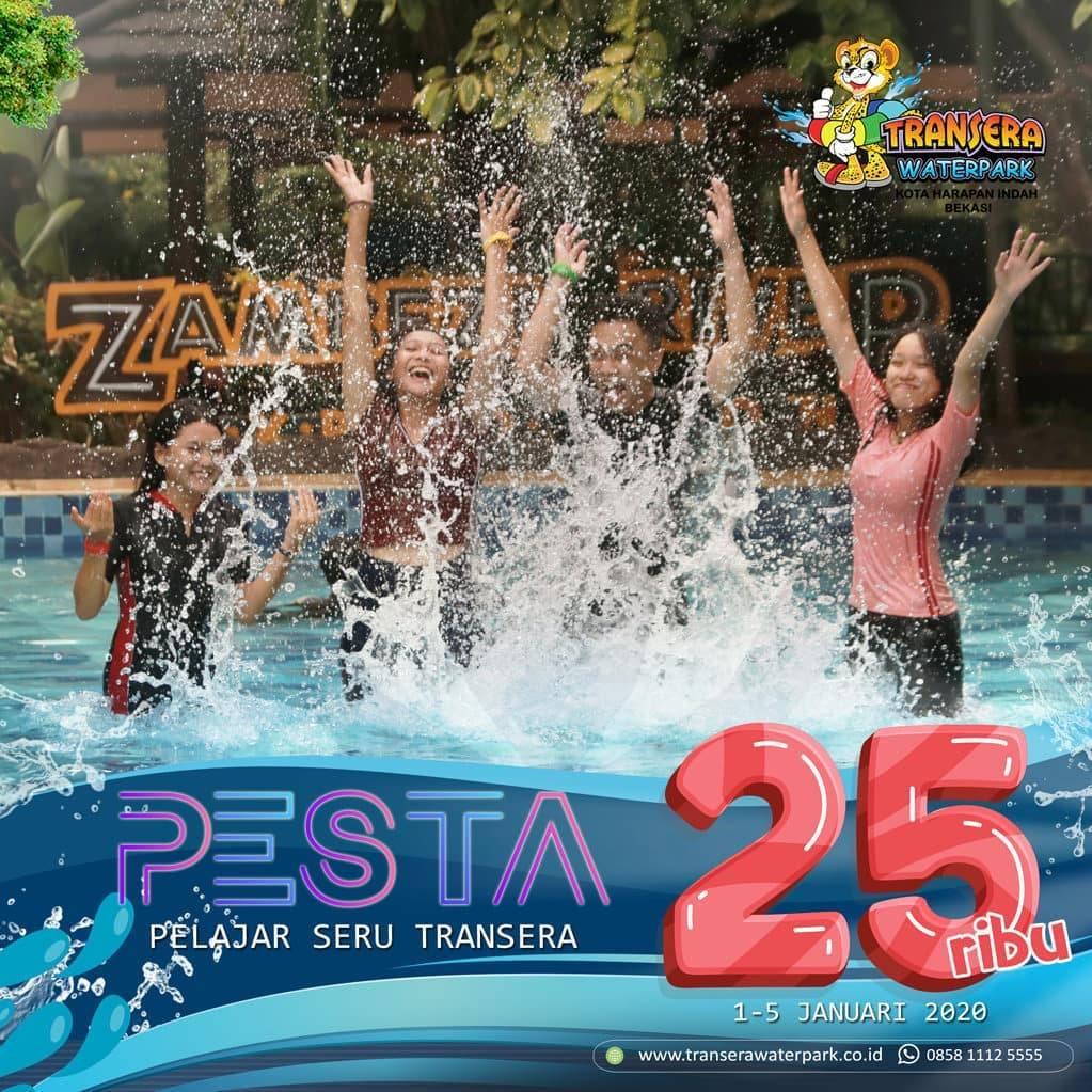 Transera Waterpark Promo Khusus Pelajar Harga Tiket Masuk Cuma Rp. 25.000