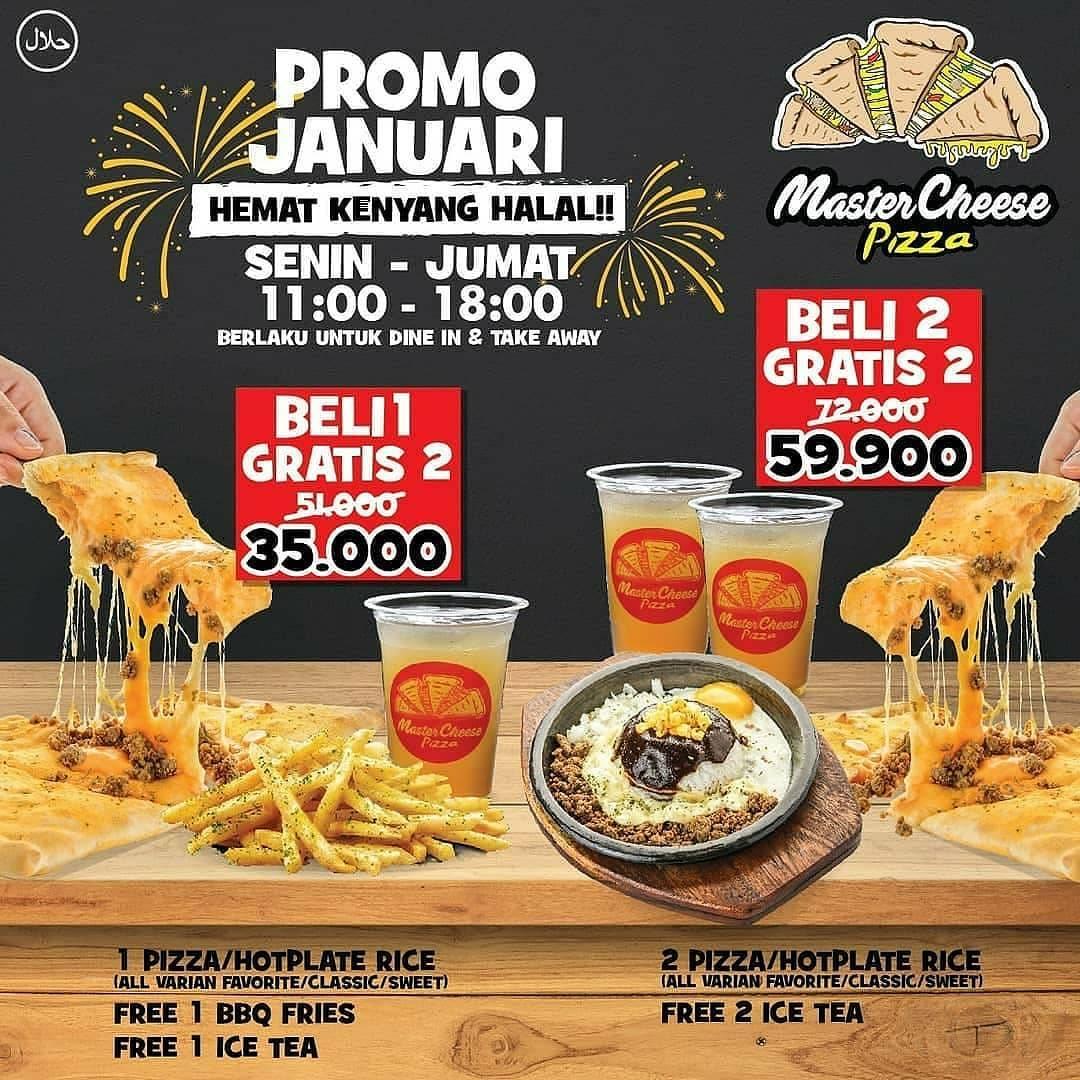 Mastercheese Pizza Promo Spesial Januari 2020