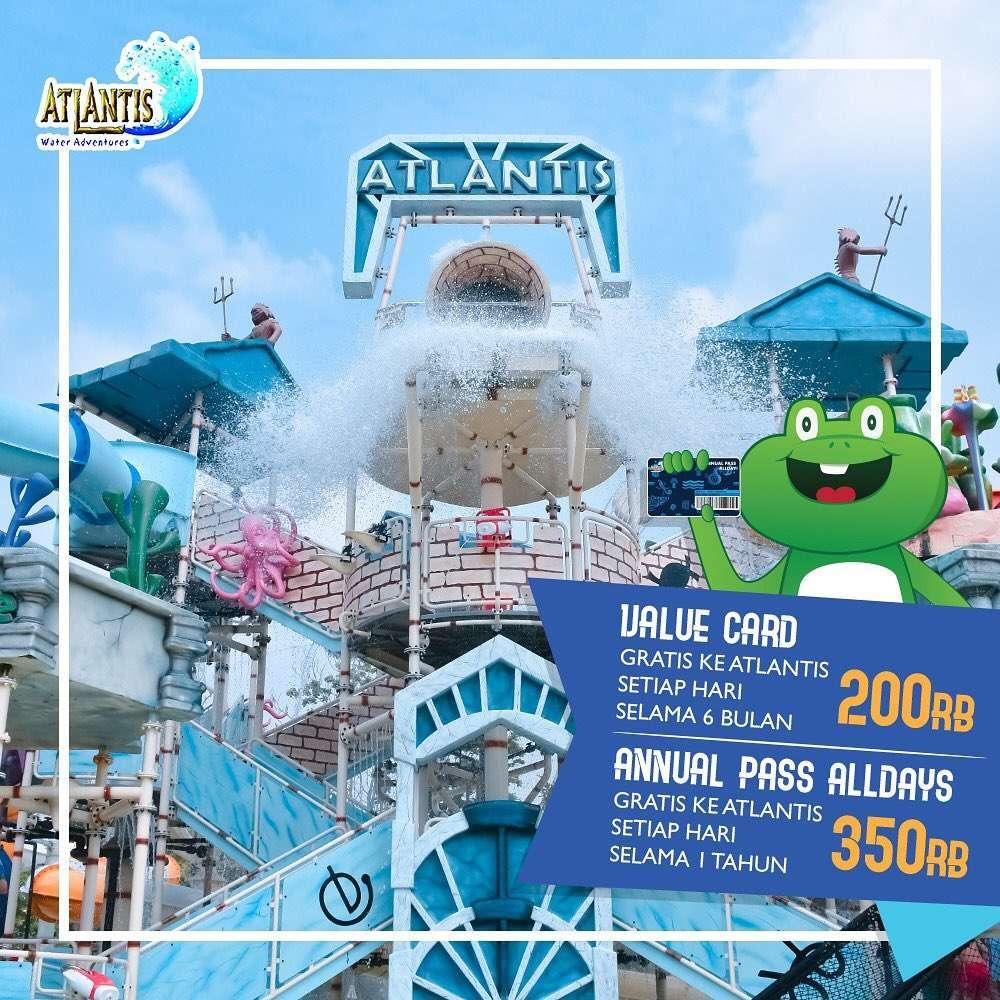 Atlantis Water Adventure Promo Annual Pass Dapatkan Harga Mulai Rp. 200 Ribuan!
