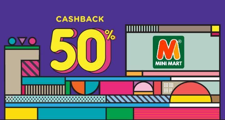 MiniMart Cashback 50% Dengan OVO