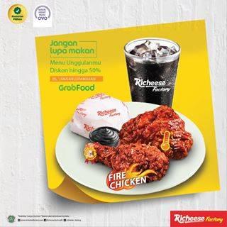 Richeese Factory Promo Awal Tahun Dapatkan Cashback 50%