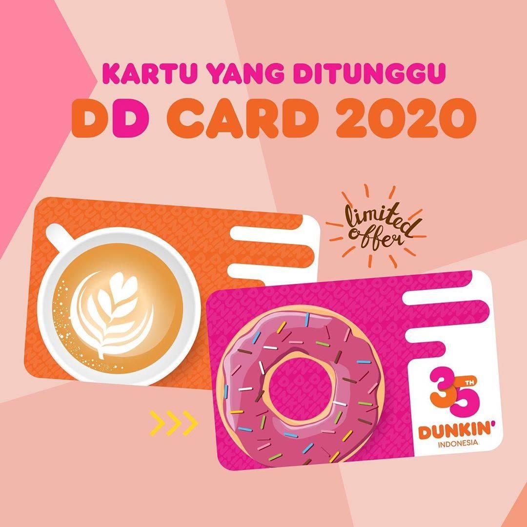 Dunkin Donuts Promo DD Card Edisi 2020