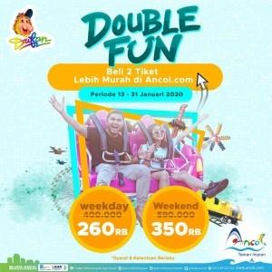 Dufan Promo Double Fun, Beli 2 Tiket Harga Mulai Dari Rp. 260.000