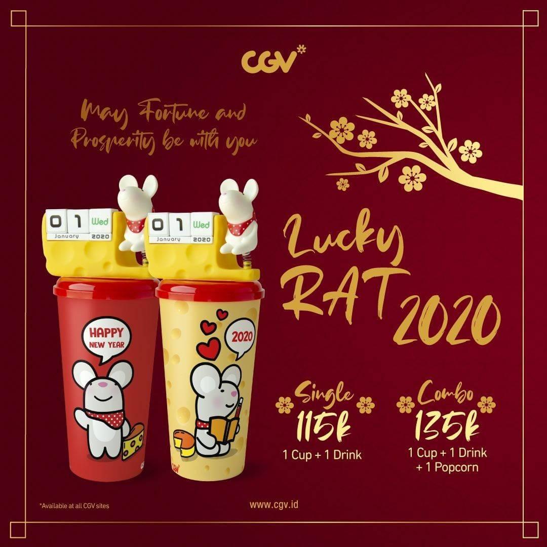 CGV Promo Spesial Imlek 2020, Dapatkan Lucky Rat Tumblr Harga Mulai Dari Rp. 115.000