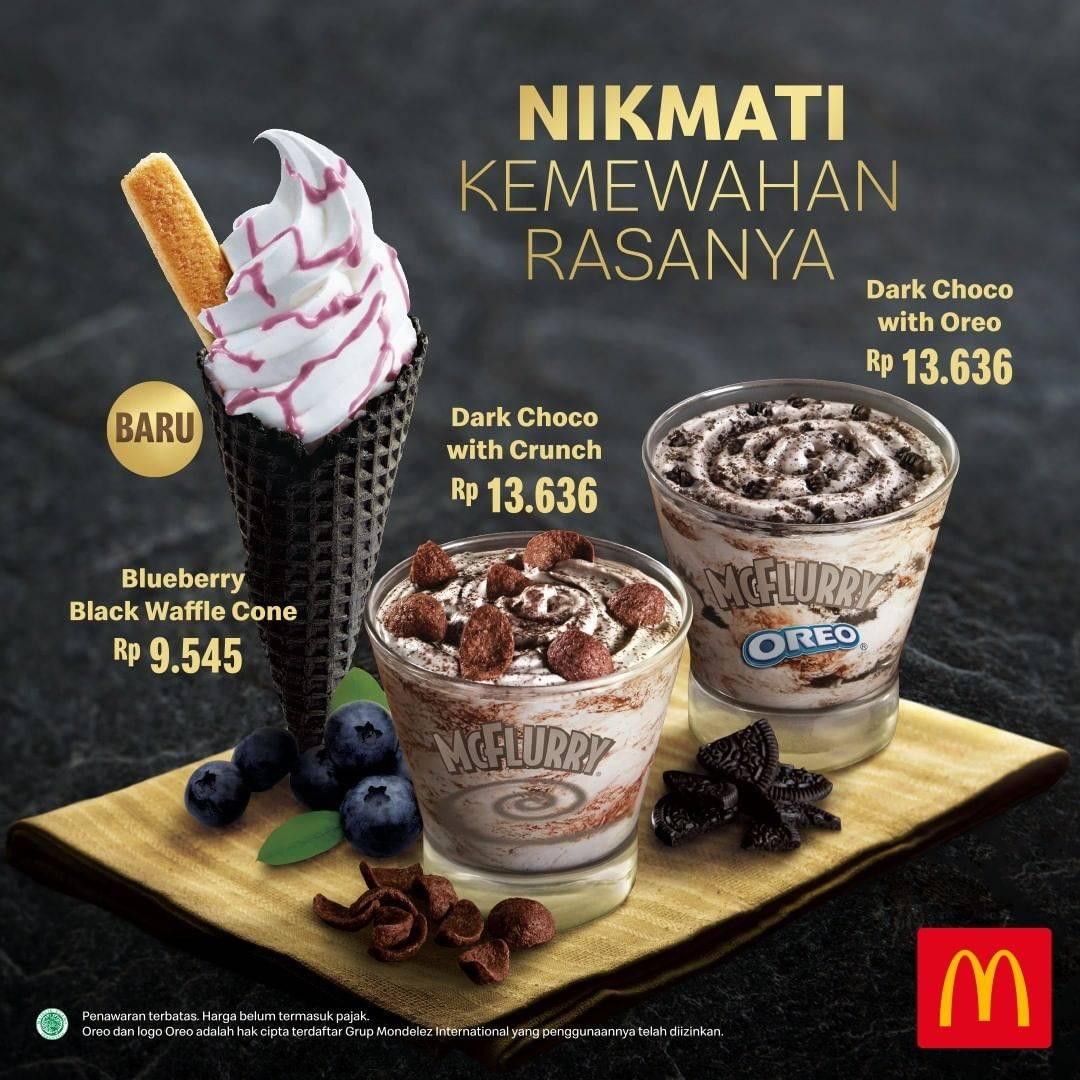 McDonalds Promo Menu Baru McFlurry Harga mulai Dari Rp.9.545