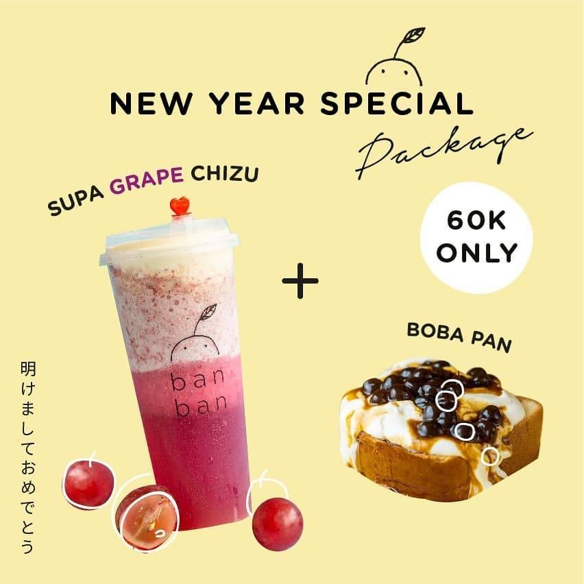 BanBan Promo Spesial Tahun Baru, Beli Paket Hemat Cuma Rp. 60.000!
