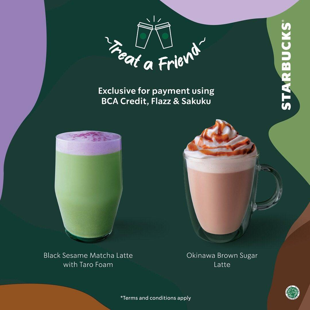 Starbucks Beli 1 Gratis 1 Dengan BCA Card