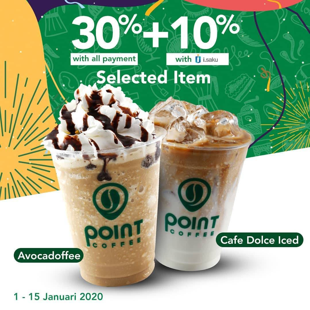 Indomaret Point Coffee Dapatkan Diskon 30% + 10% Untuk Varian Minuman Pilihan