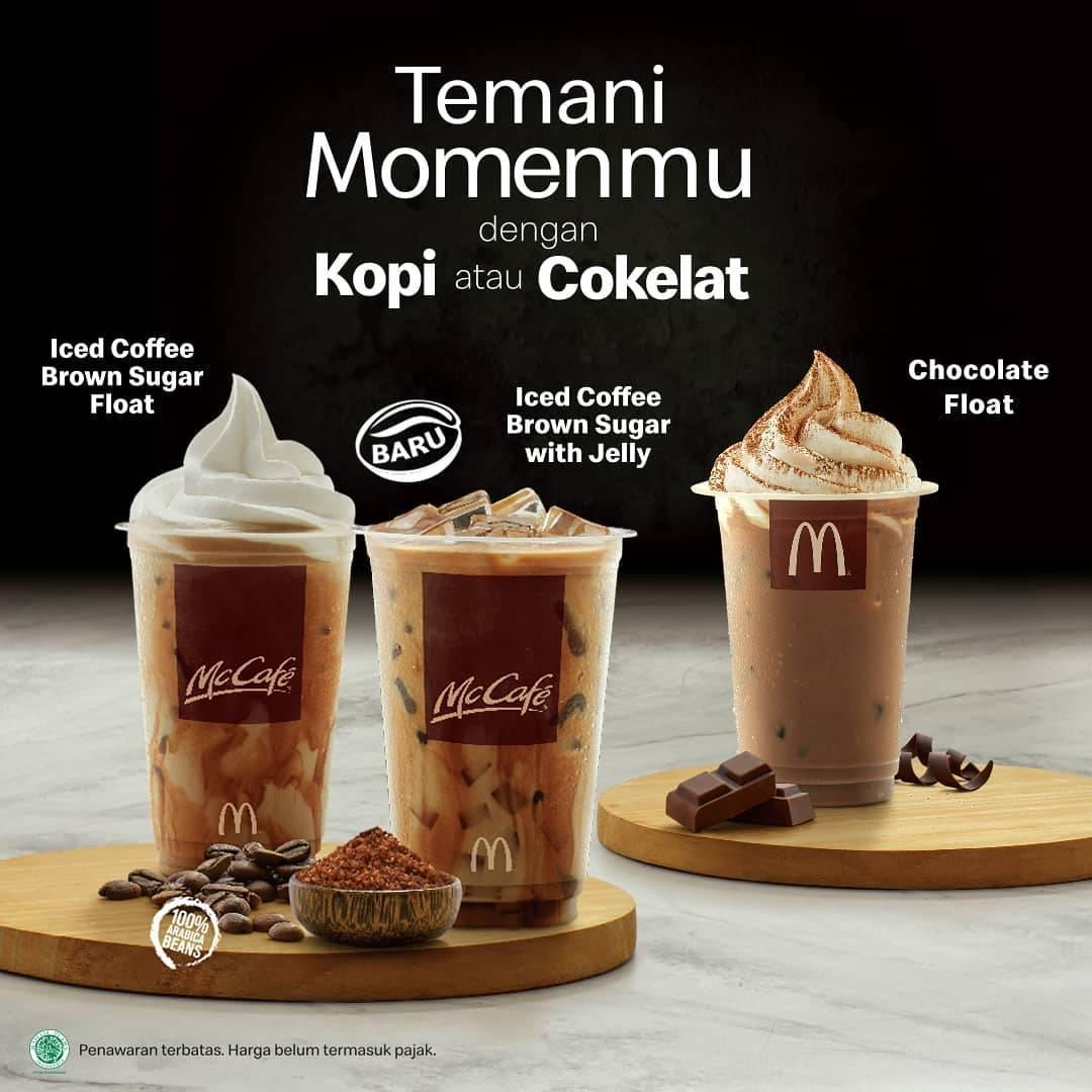 McCafe Promo Menu Baru Ice Coffe Brown Sugar Harga Mulai Dari Rp.17ribuan