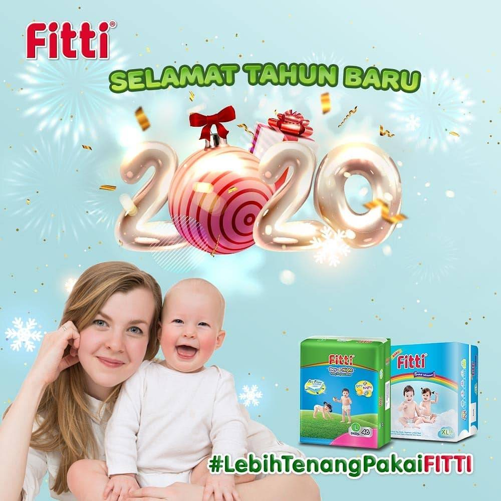 Shopee Diskon Hingga 54% Untuk Produk Fitti Baby Diaper