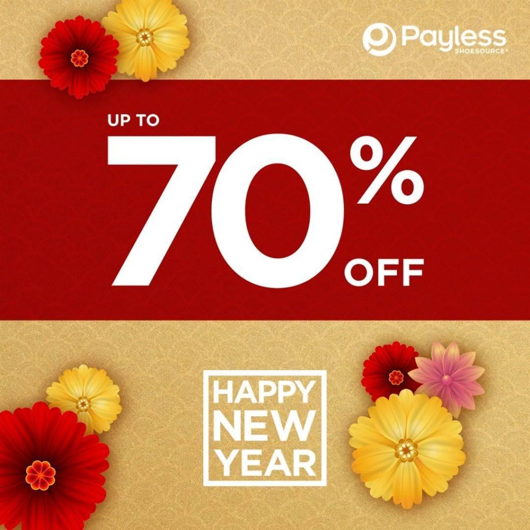 Payless Promo Spesial Awal Tahun Dapatkan Diskon Hingga 70%