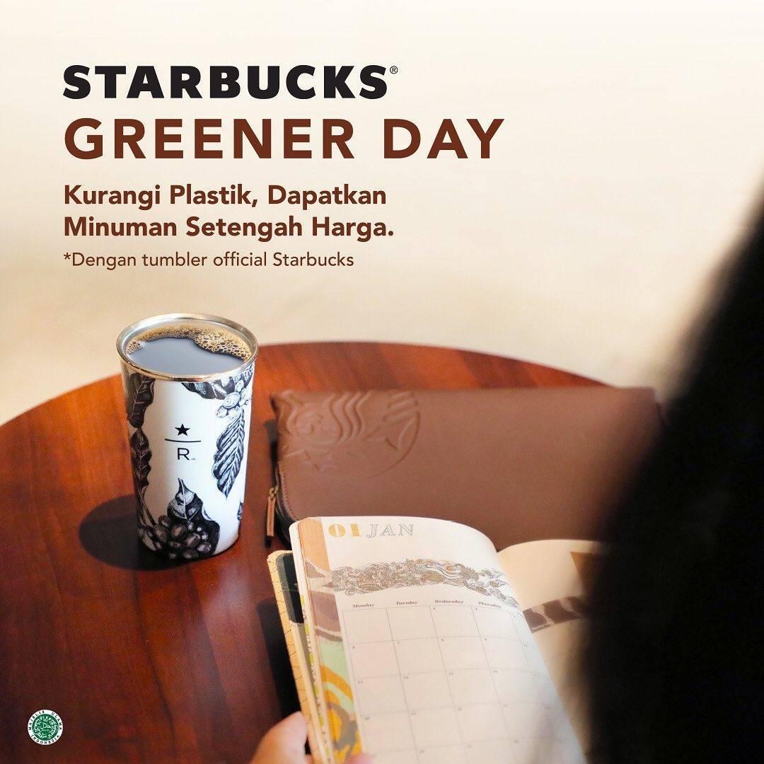 Diskon Starbucks Promo Spesial Tumbler Day Dapatkan Diskon 50%