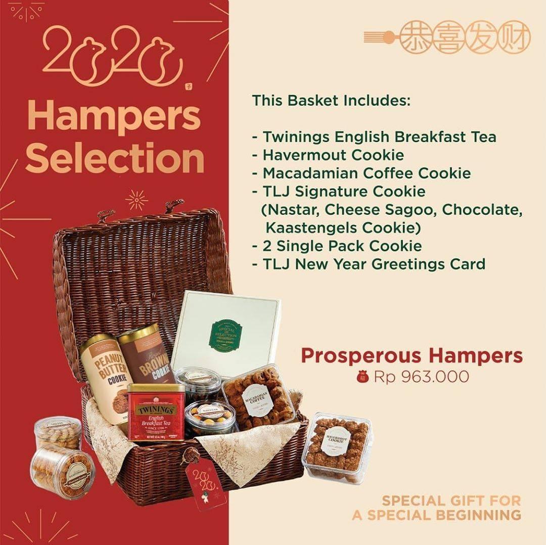 Tous Les Jours Promo Lunar New Year, Dapatkan Prosperous Hampers Dengan Harga Rp. 963.000