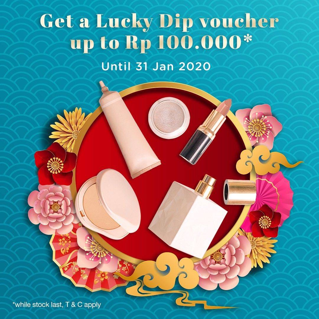 Metro Department Store Promo Lucky Dip Voucher  Up To IDR. 100.000
