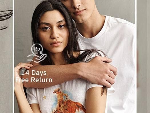 Levis Promo Gratis Ongkir, 14 Hari Gratis Pengembalian, Dan Kemudahan Bayar Di Tempat Untuk Pembelia