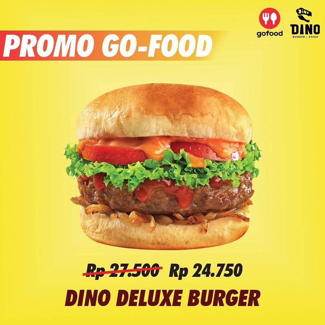 Dino Burger & Steak Promo Special Gofood! Menu Pilihan Dengan Harga Mulai Rp. 24.750