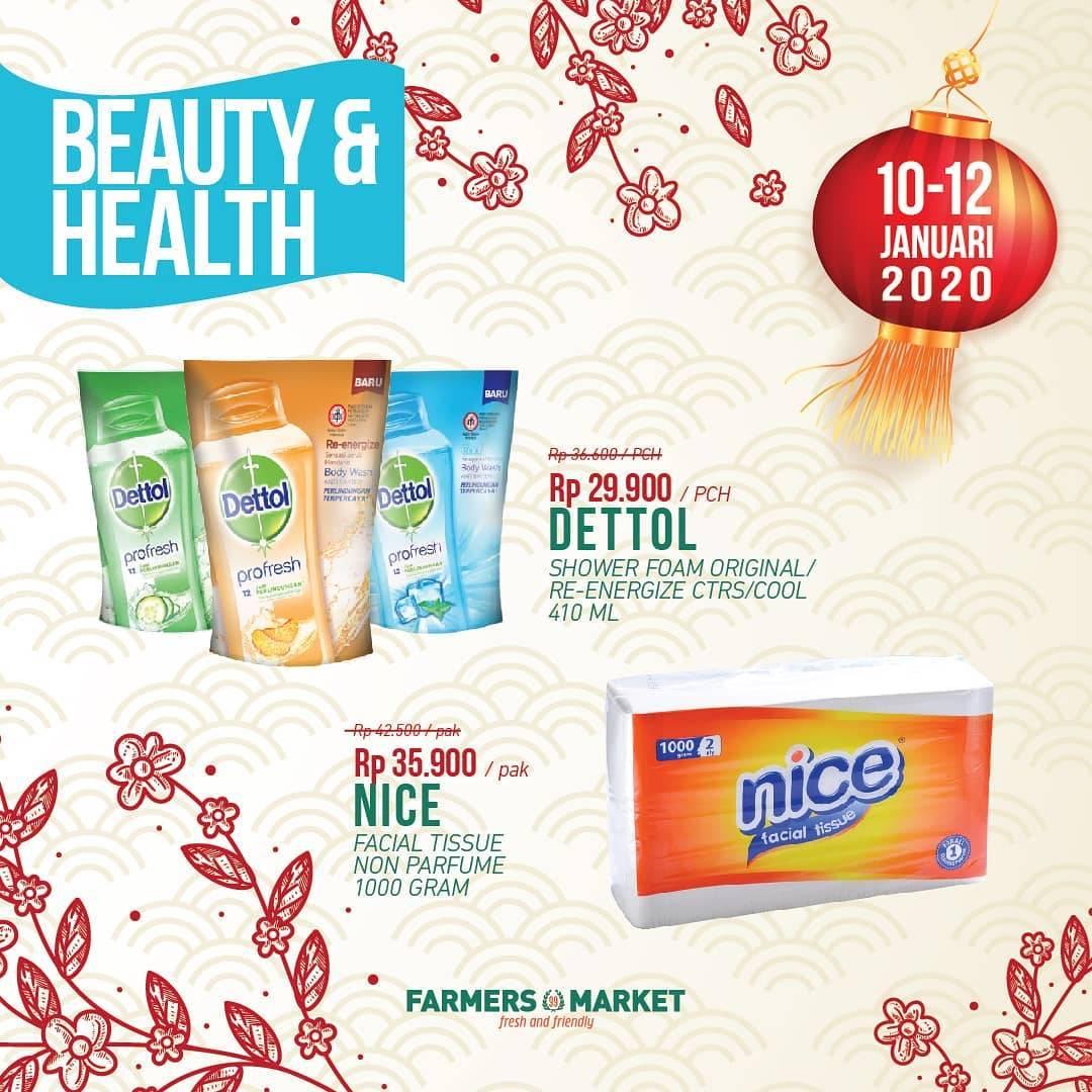 Farmers Promo Harga Spesial Untuk Produk Sabun Dettol Dan Facial Tissue Nice