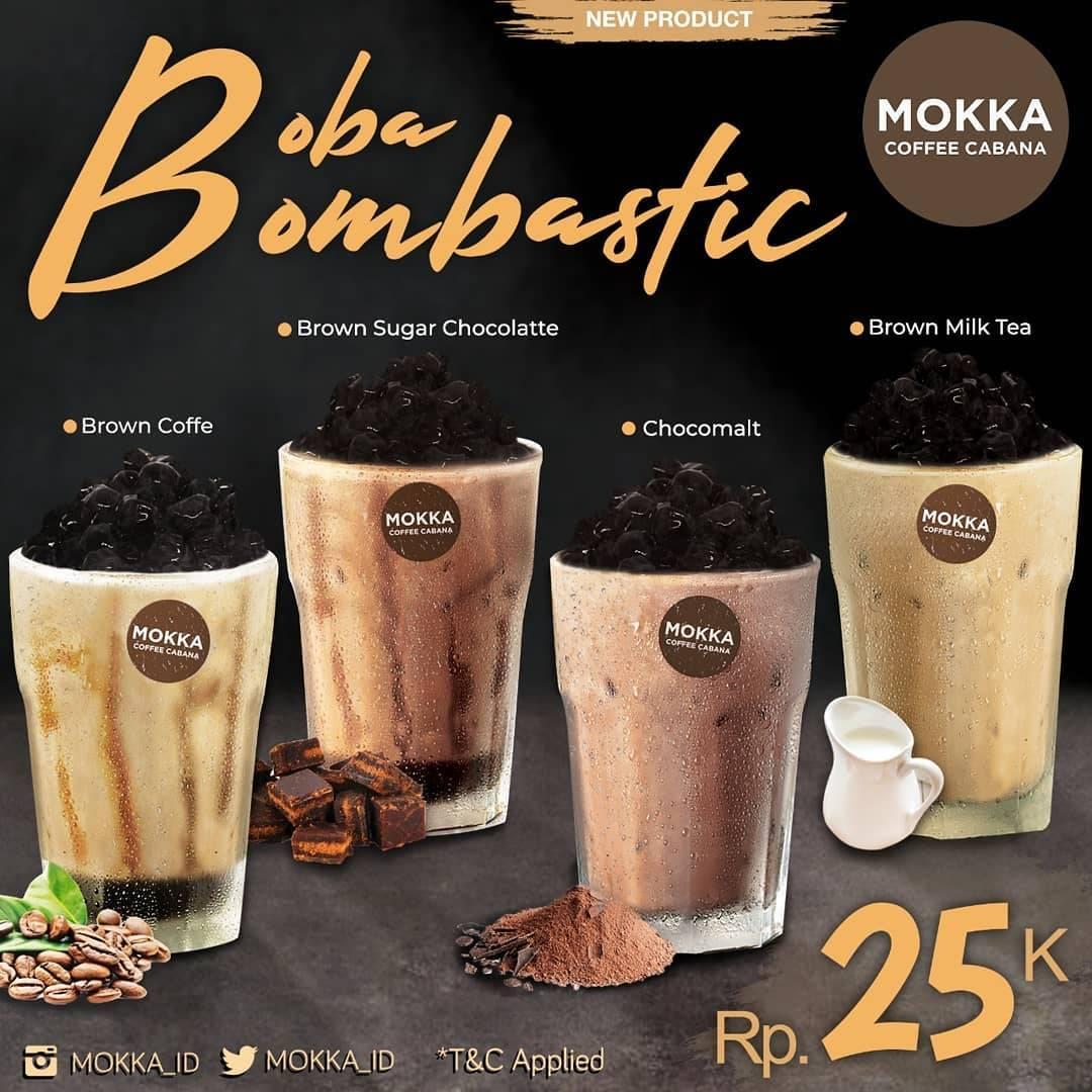 Mokka Coffee Cabana Promo Boba Bombastic Dengan Harga Rp. 25.000