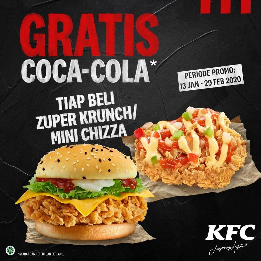 KFC Promo Spesial Awal Tahun, Buy 1 Get 1 Free