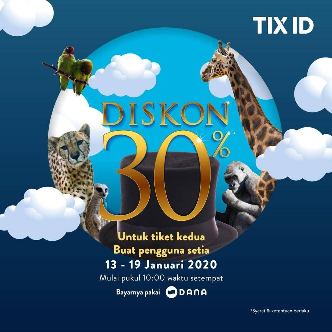 TIX ID Promo Nonton Hemat Dengan Diskon 30%