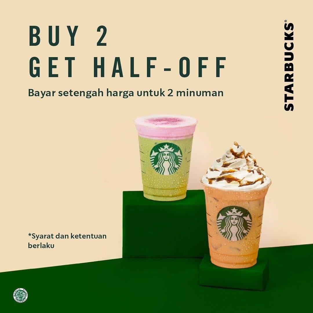 Diskon Starbucks Promo Diskon 50% Untuk Pembelian Dengan Kupon Line