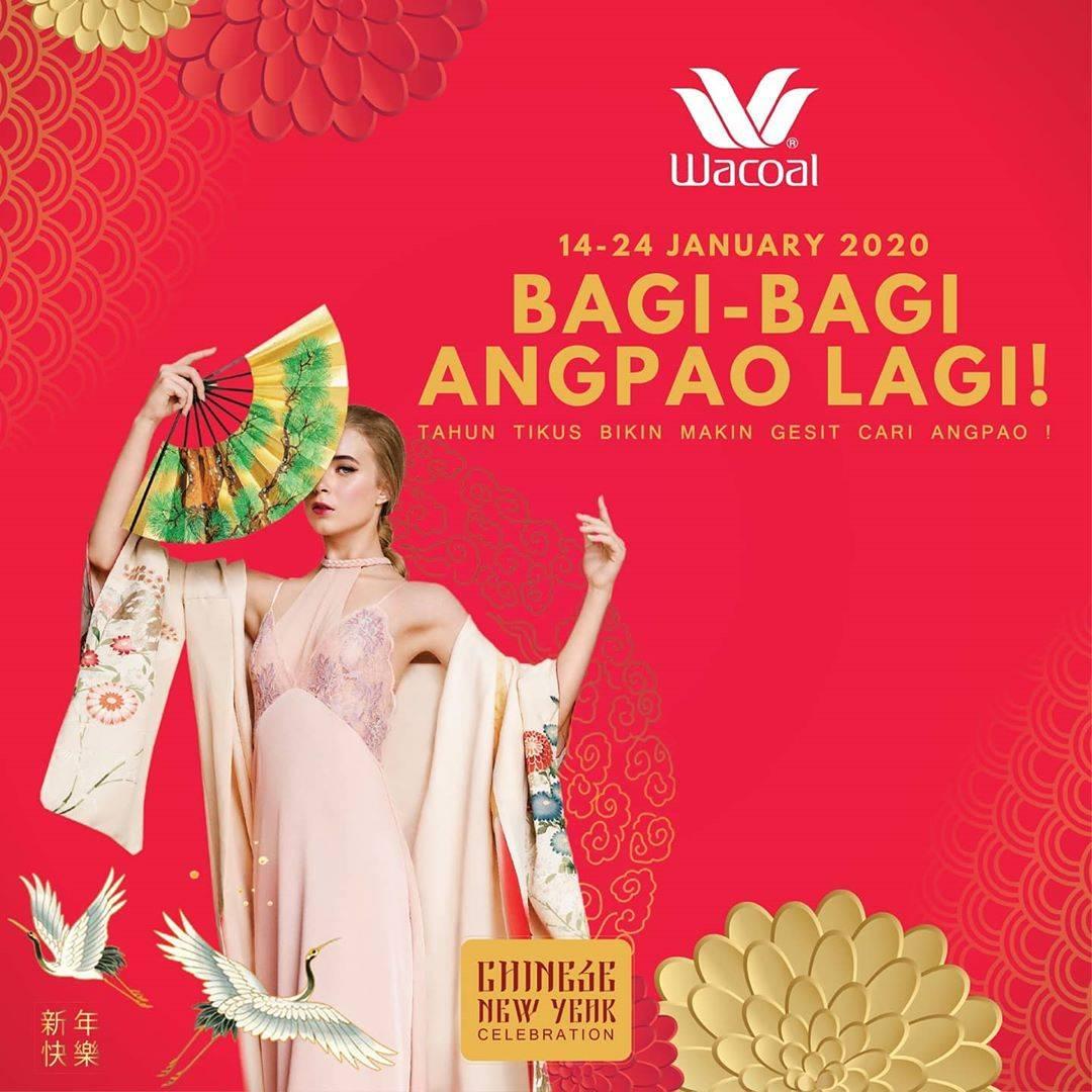 Wacoal Promo Bagi-Bagi Angpao 2020 Hingga Rp. 100.000