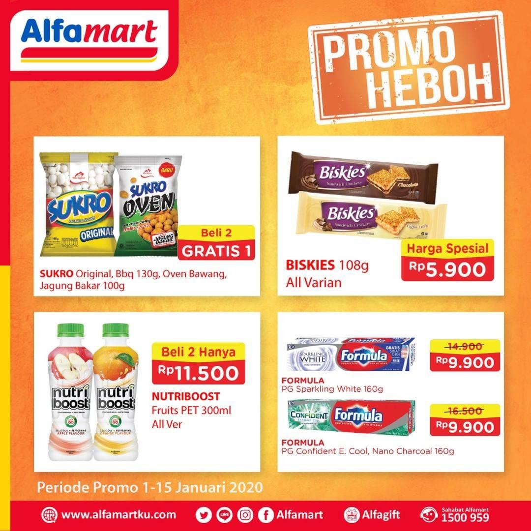 Alfamart Promo Heboh Untuk Produk Pilihan