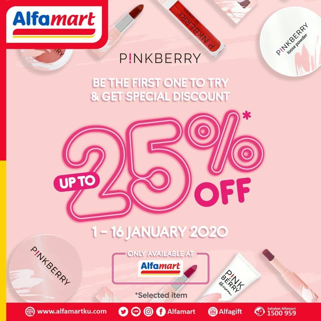 Diskon Alfamart Promo Diskon Hingga 25% Untuk Produk PinkBerry