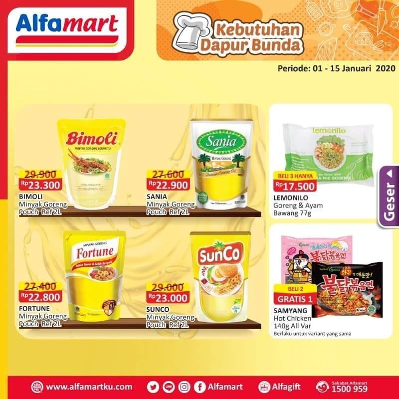 Alfamart Promo Harga Spesial Untuk Kebutuhan Dapur Bunda