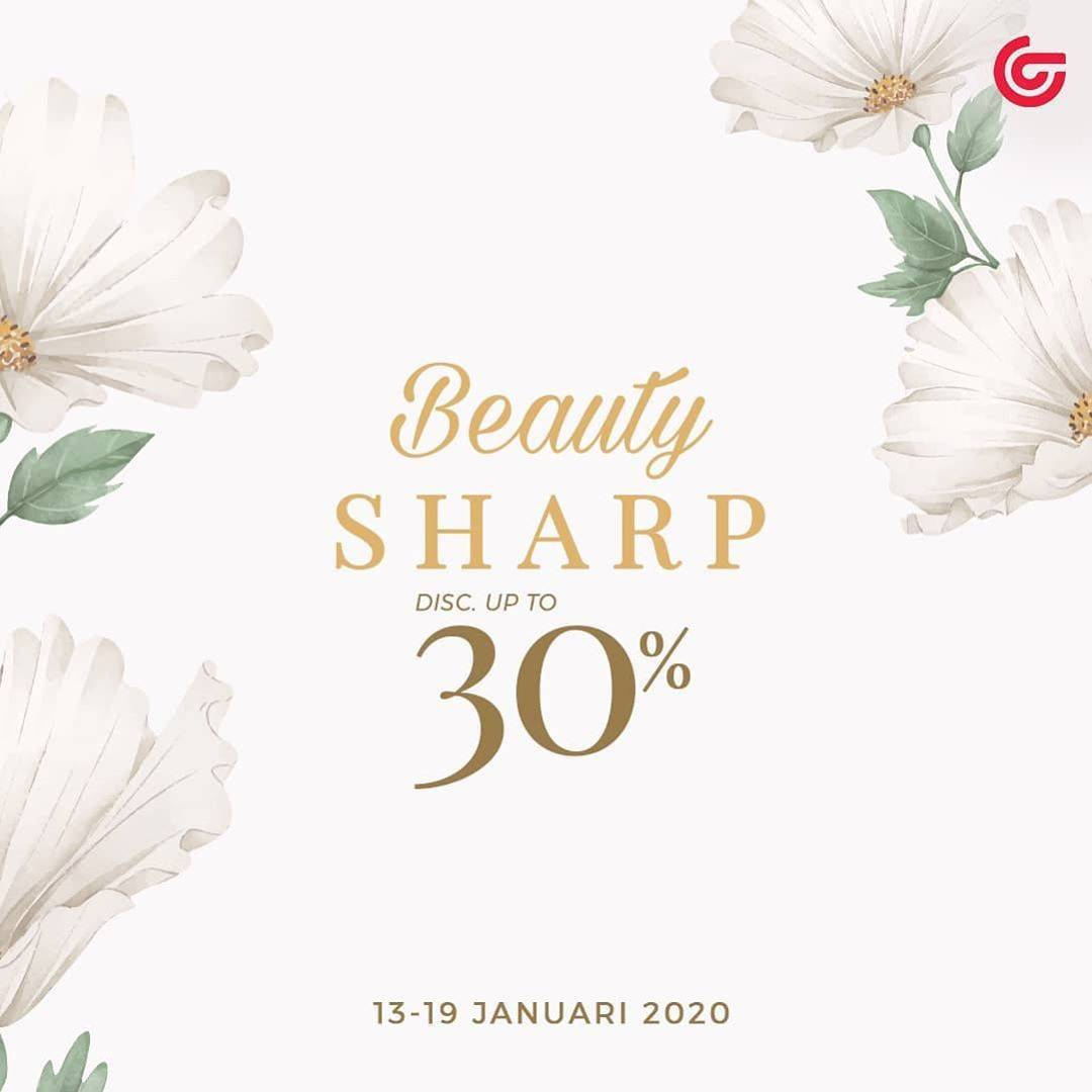 Matahari Promo Beauty Sharp, Discount Up To 30%