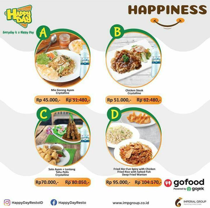 Happy Day Resto Promo Beef Lovers Starts From Rp 45.000,-