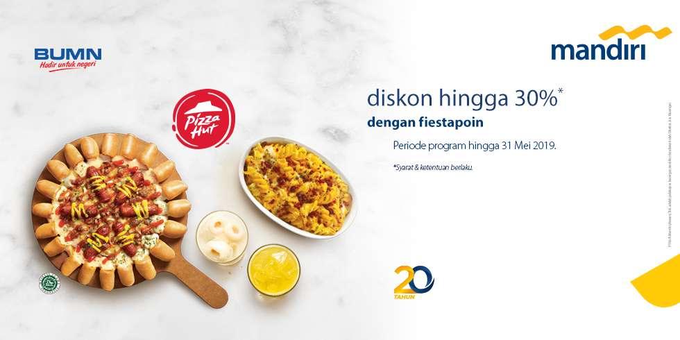 Pizza Hut Promo Diskon Hingga 30% Dengan Tukar Poin Fiestapoin Mandiri