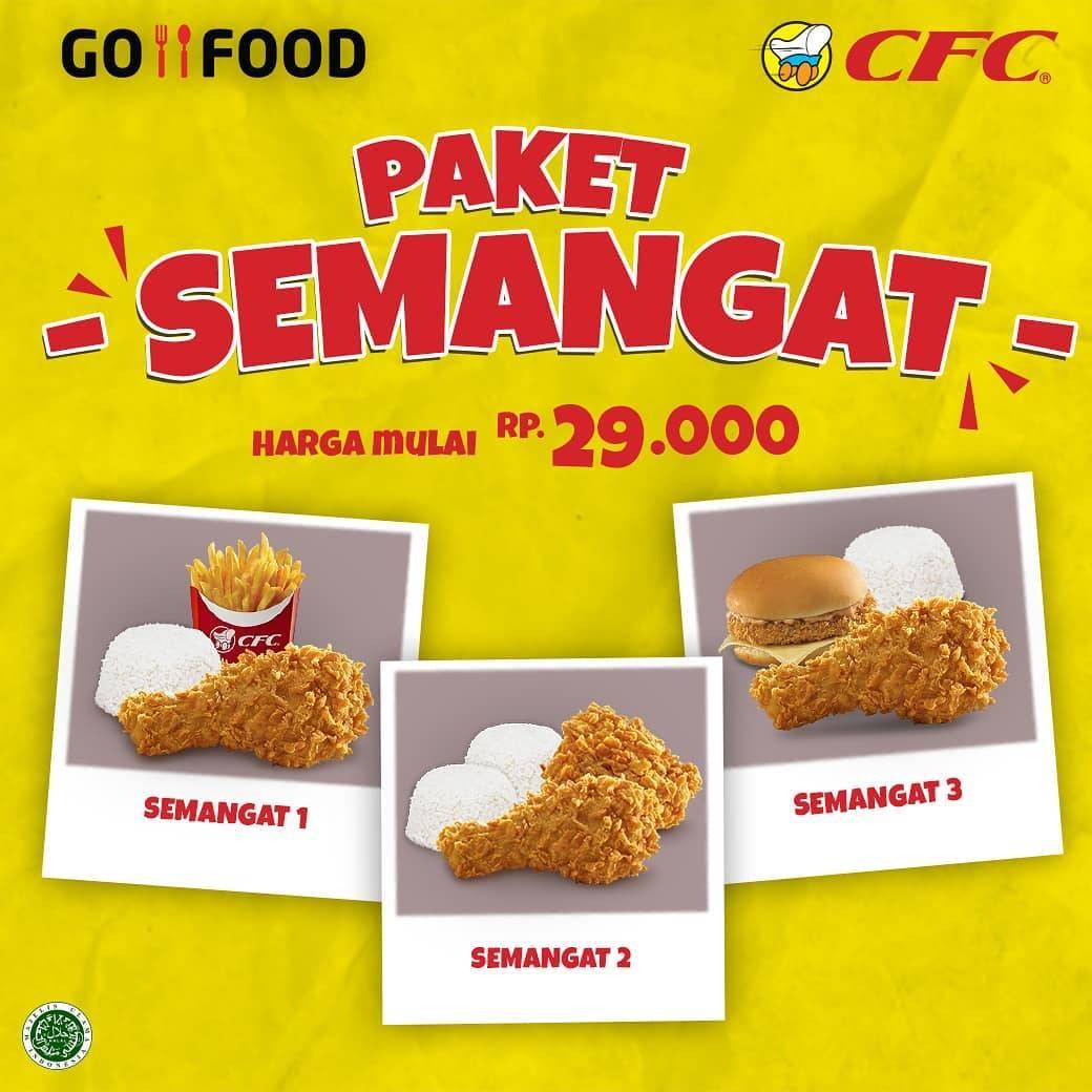 CFC Promo Paket Semangat Dengan Harga Mulai Dari Rp. 29.000