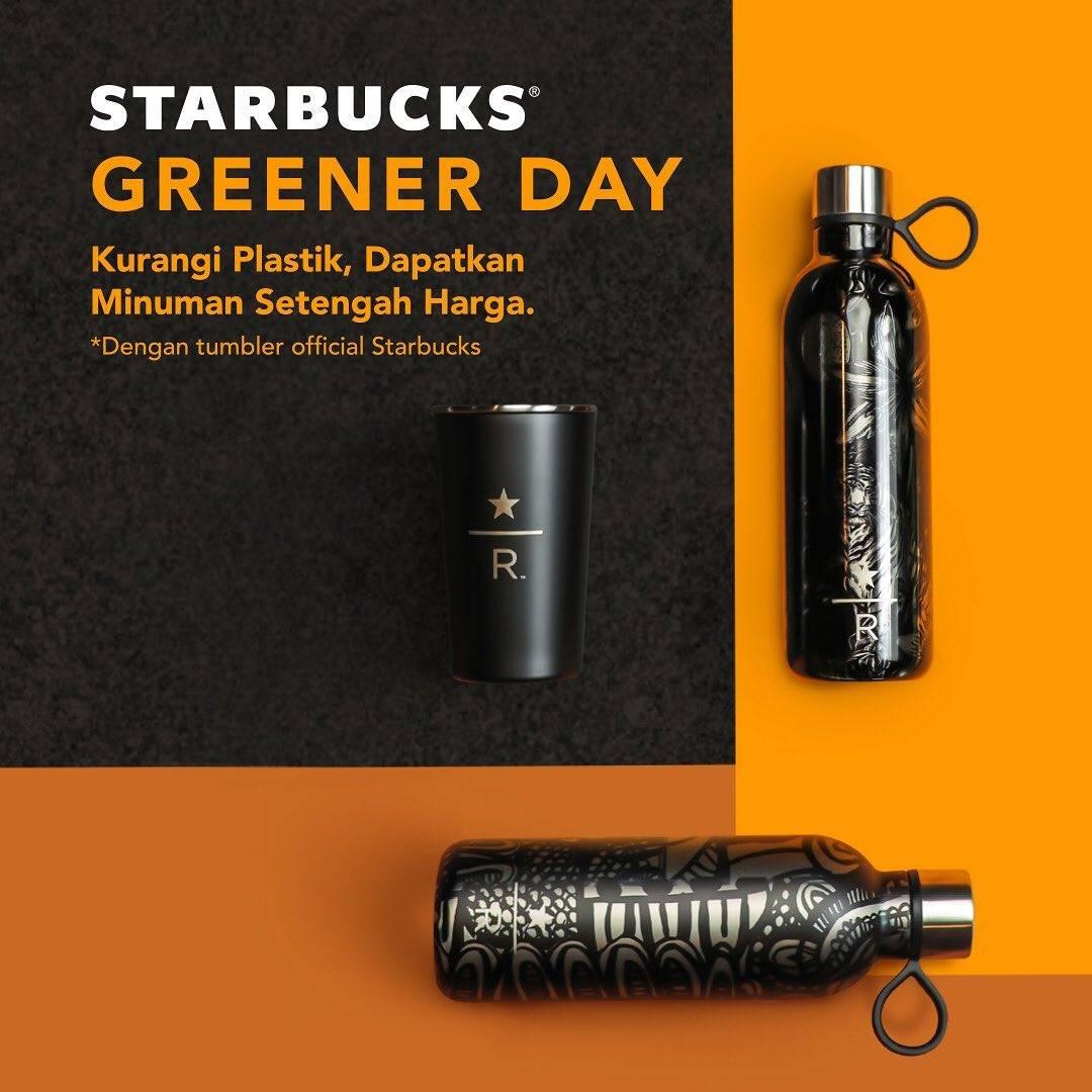Starbucks Diskon 50% Untuk Semua Minuman Dengan Tumbler Official Starbucks
