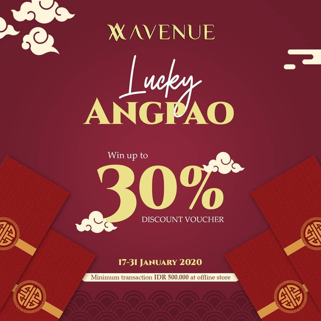 Avenue Clothing Promo Angpao Berisi Voucher Diskon Hingga 30%