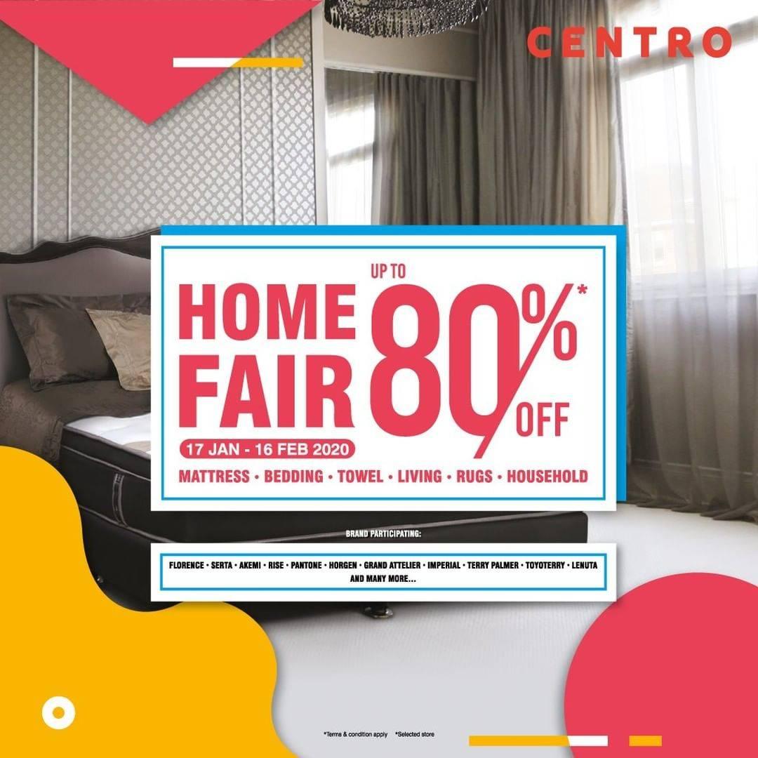 Centro Department Store Promo Diskon Hingga 80% Dan Buy 1 Get 1