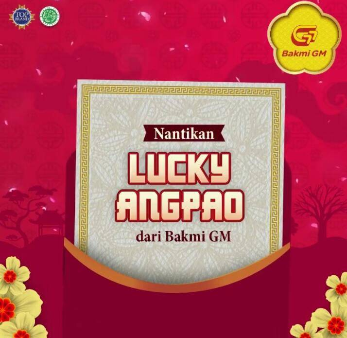 Bakmi Gajah Mada Promo Lucky Angpao
