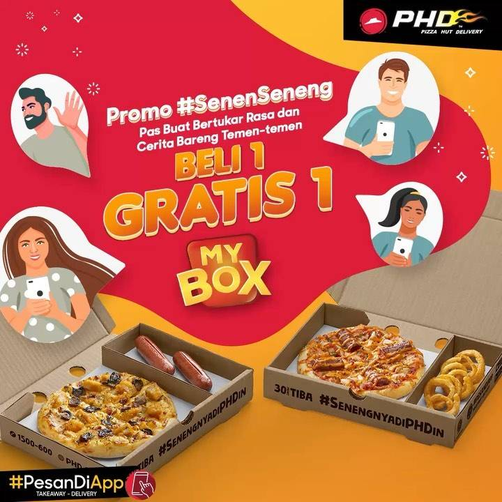 PHD Promo My Box Buy 1 Get 1