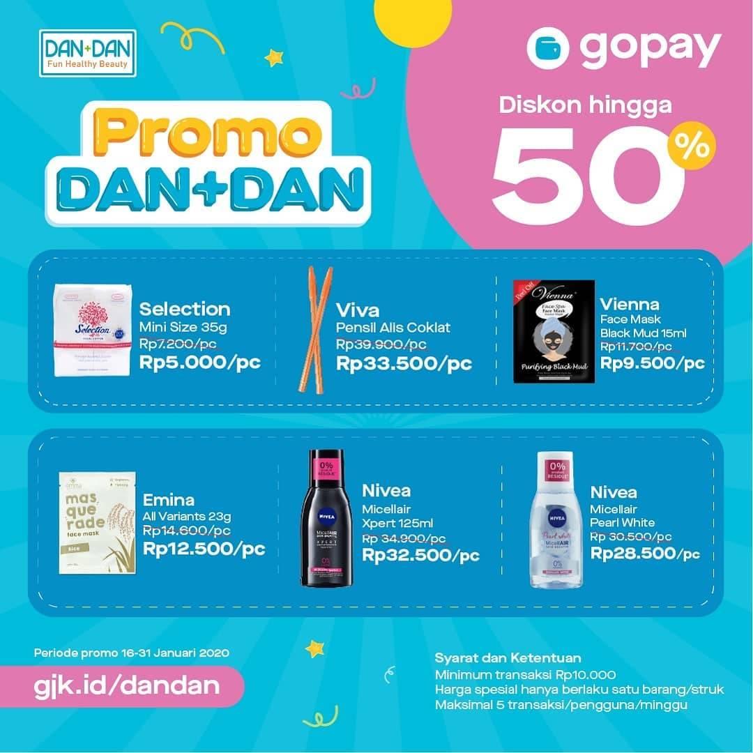 Toko Dan+Dan Promo Diskon 50% Pakai Gopay