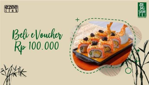 Sushi Tei Promo eVoucher Sushi Tei Senilai Rp 100.000 Menggunakan Ezeelink