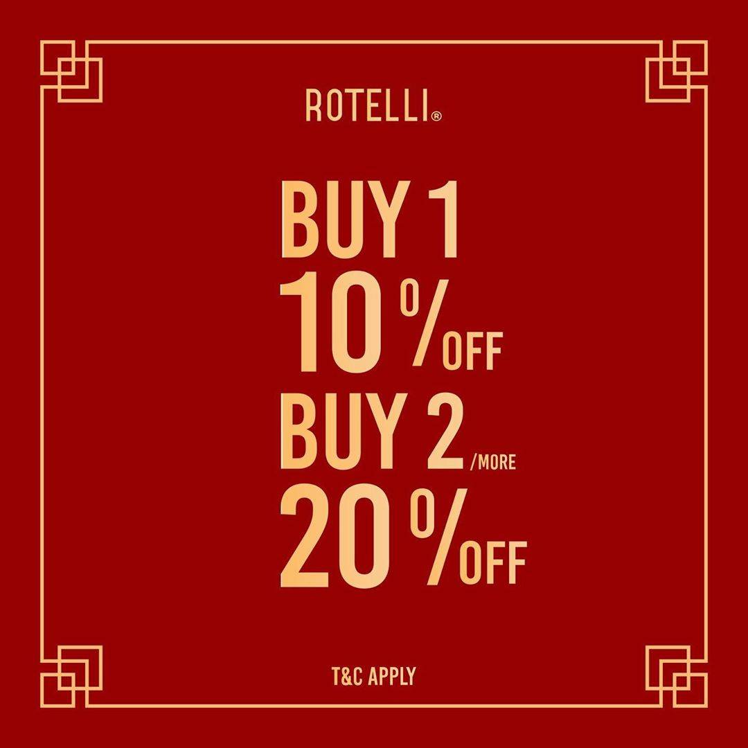 Rotteli Promo Discount Up To 20% Off