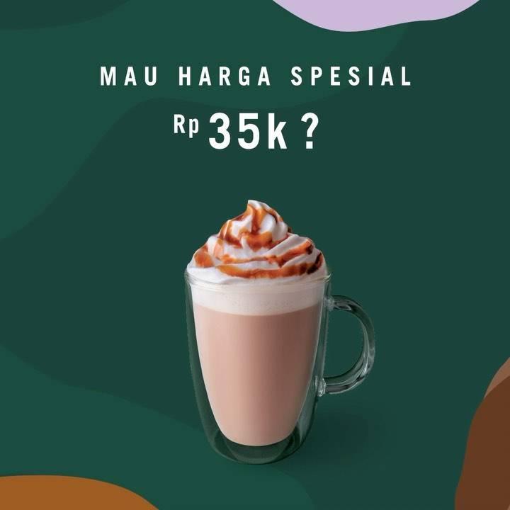 Starbucks Promo Minuman Pilihan Cuma Rp. 35.000