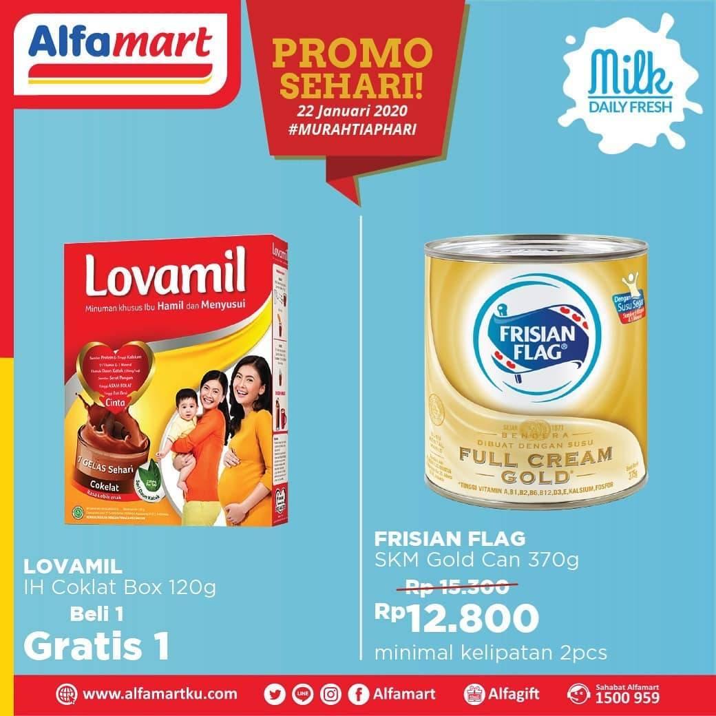 Alfamart Promo Sehari 2 Produk Spesial