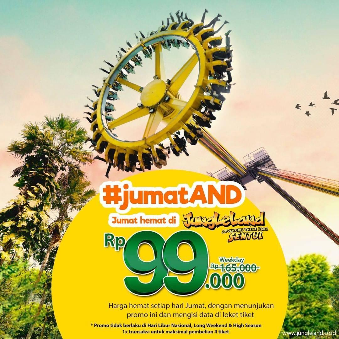 Diskon Jungleland Promo JumatAnd Hanya Rp. 99.000