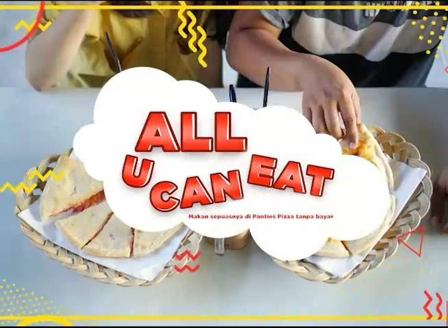 Panties Pizza Promo All You Can Eat Bagi Pemenang Challange Selama Bulan Januari