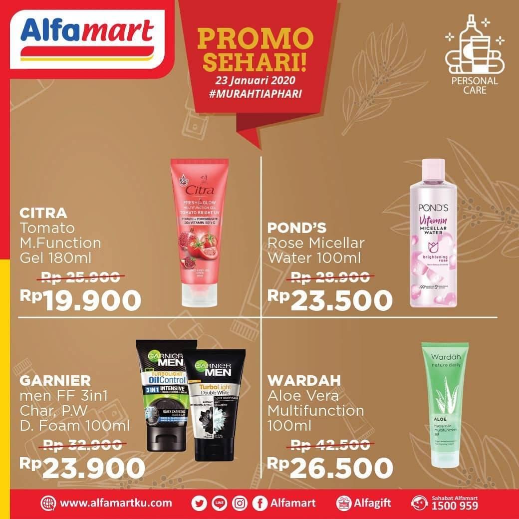 Alfamart Promo Sehari, Potongan Harga Untuk Produk Kecantikan Pilihan