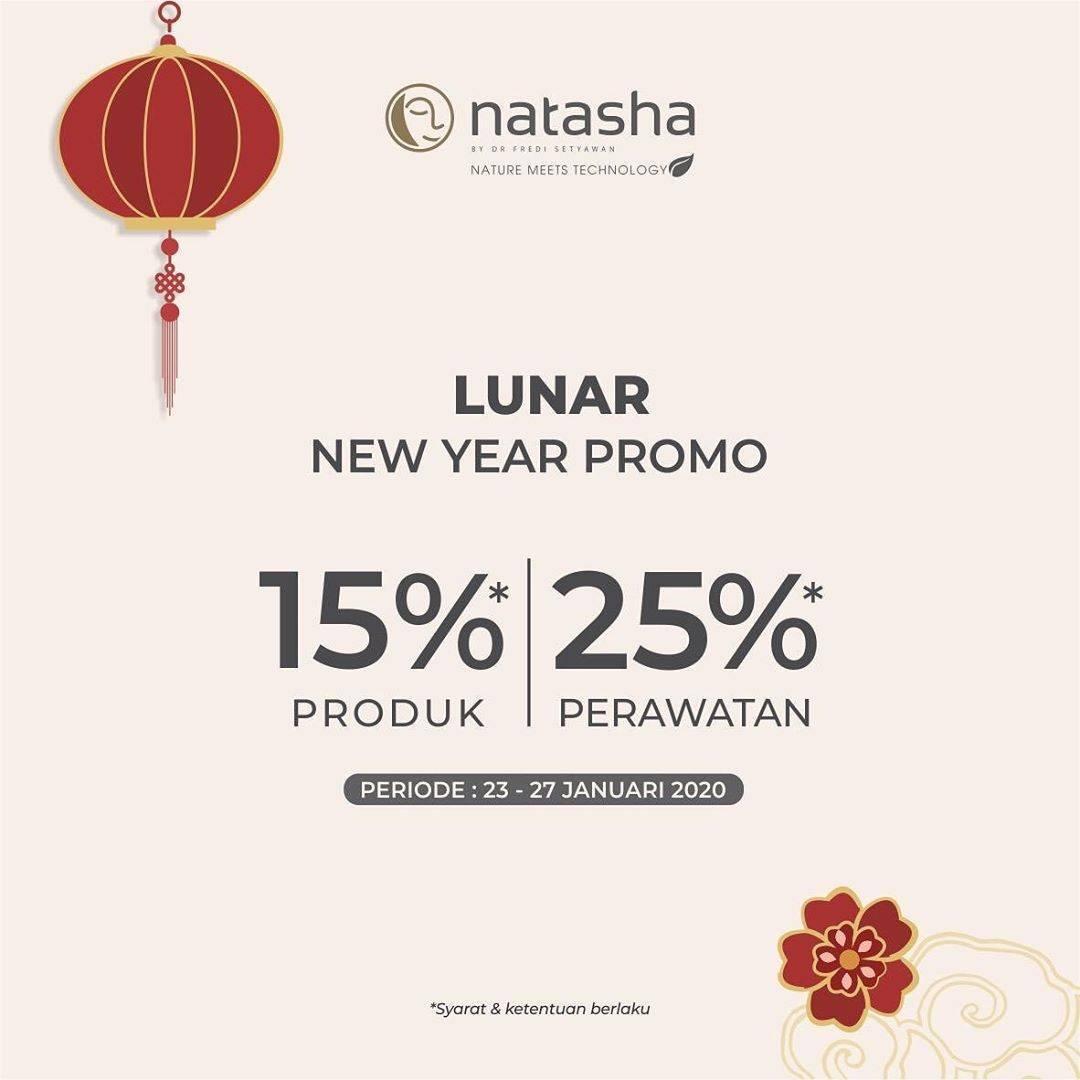 Natasha Skin Clinic Center Promo Diskon 15% Untuk Produk & Diskon 25% Untuk Perawatan