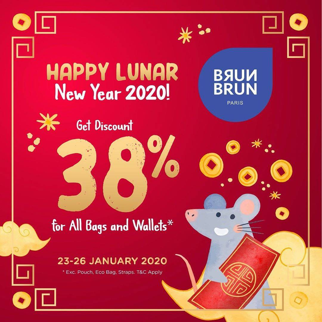 Diskon Brun Brun Promo Discount 38% For All Bags and Wallets