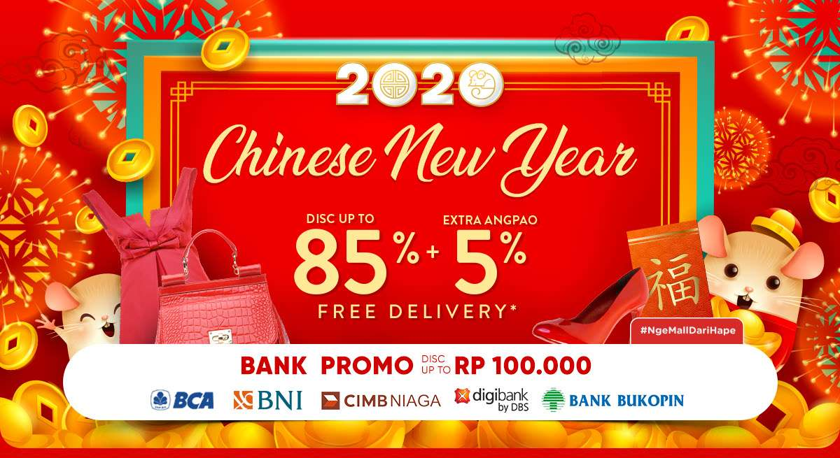 iLotte.Com Promo Chinese New Year, Discount Up To 85% And Others Special Promo